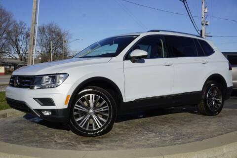 2018 Volkswagen Tiguan for sale at Platinum Motors LLC in Heath OH