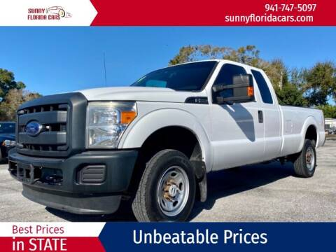 2014 Ford F-250 Super Duty for sale at Sunny Florida Cars in Bradenton FL