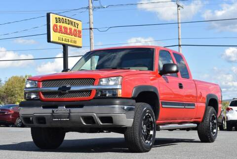 2003 Chevrolet Silverado 1500 for sale at Broadway Garage of Columbia County Inc. in Hudson NY