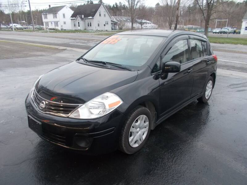 2012 Nissan Versa for sale at Dansville Radiator in Dansville NY
