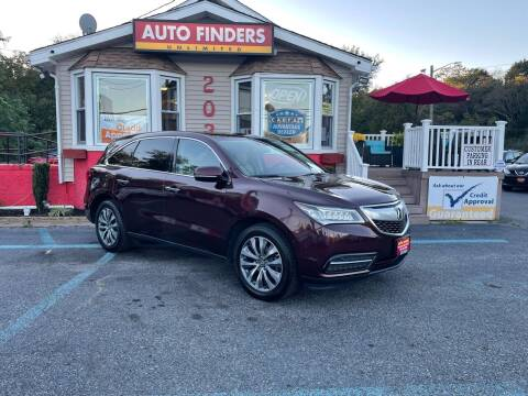 2015 Acura MDX for sale at Auto Finders Unlimited LLC in Vineland NJ