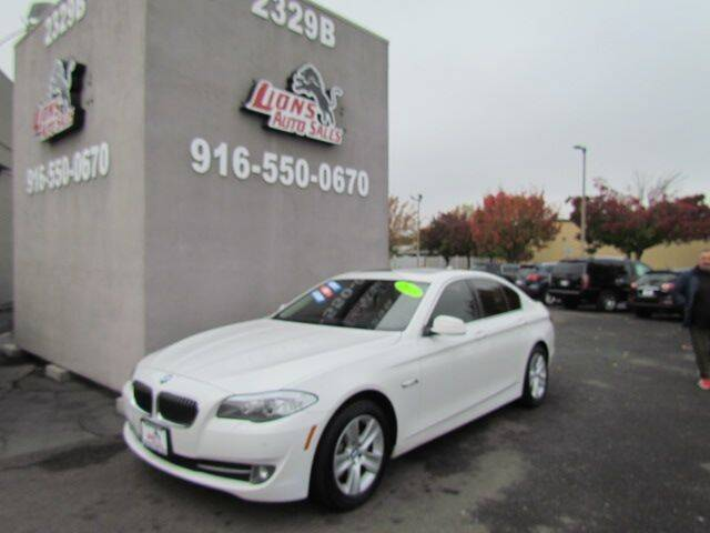 2013 BMW 5 Series for sale at LIONS AUTO SALES in Sacramento CA