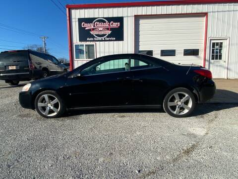 2006 Pontiac G6 for sale at Casey Classic Cars in Casey IL