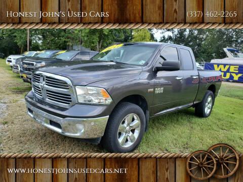 2014 RAM Ram Pickup 1500 for sale at Honest John's Used Cars in Deridder LA