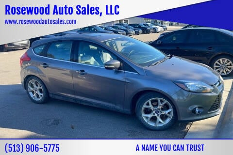 2014 Ford Focus for sale at Rosewood Auto Sales, LLC in Hamilton OH