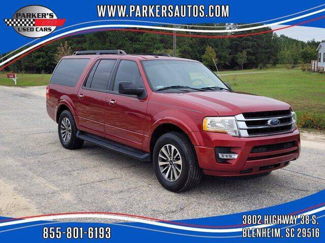 2015 Ford Expedition EL for sale at Parker's Used Cars in Blenheim SC