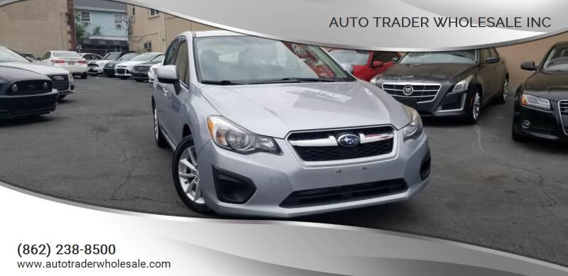 2013 Subaru Impreza for sale at Auto Trader Wholesale Inc in Saddle Brook NJ