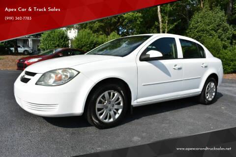 2010 Chevrolet Cobalt for sale at Apex Car & Truck Sales in Apex NC