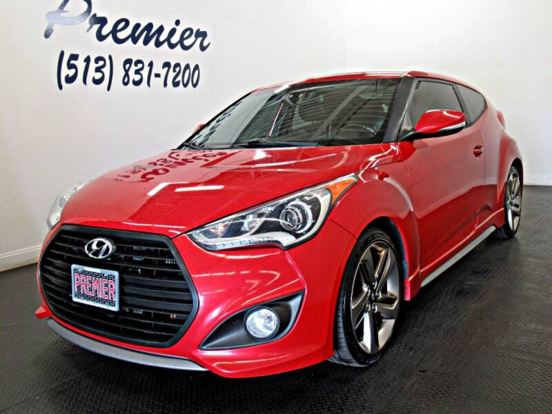 2014 Hyundai Veloster for sale at Premier Automotive Group in Milford OH
