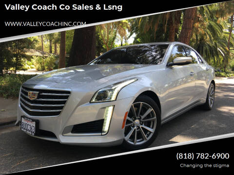 2017 Cadillac CTS for sale at Valley Coach Co Sales & Lsng in Van Nuys CA