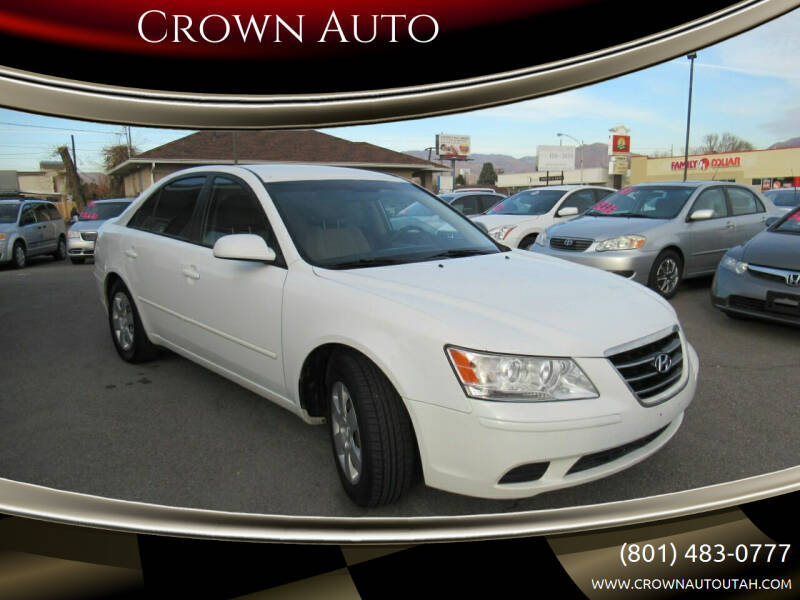 2010 Hyundai Sonata for sale at Crown Auto in South Salt Lake City UT