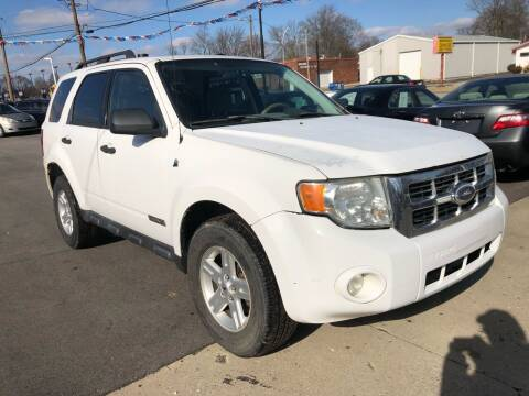 2008 Ford Escape Hybrid for sale at Wise Investments Auto Sales in Sellersburg IN