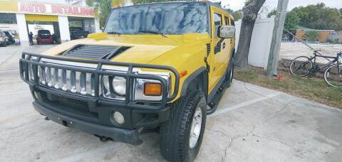 2003 HUMMER H2 for sale at Autos by Tom in Largo FL