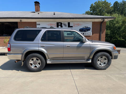 2002 Toyota 4Runner for sale at R & L Autos in Salisbury NC