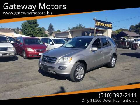 2007 Mercedes-Benz M-Class for sale at Gateway Motors in Hayward CA
