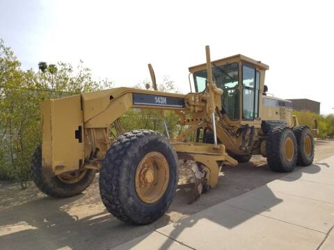 2004 Caterpillar 143H for sale at SULLIVAN MOTOR COMPANY INC. in Mesa AZ