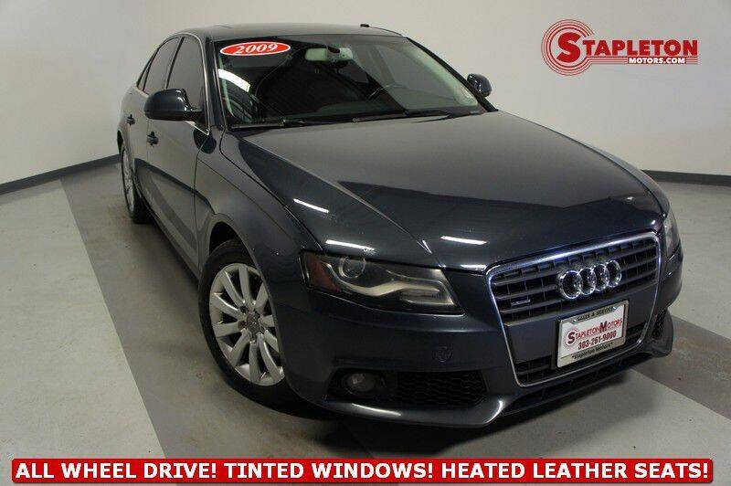 2009 Audi A4 for sale at STAPLETON MOTORS in Commerce City CO