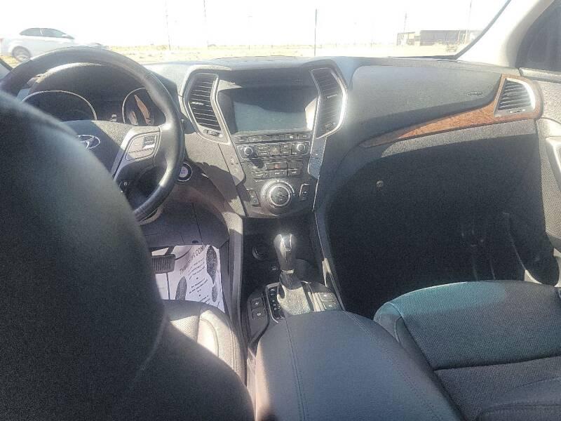 2018 Hyundai Santa Fe Sport for sale at Bickham Used Cars in Alamogordo NM