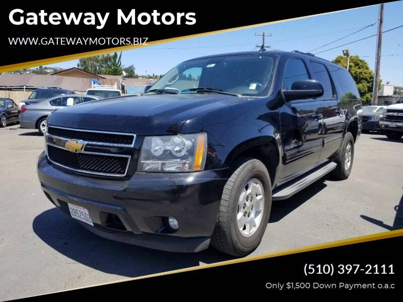 2014 Chevrolet Suburban for sale at Gateway Motors in Hayward CA
