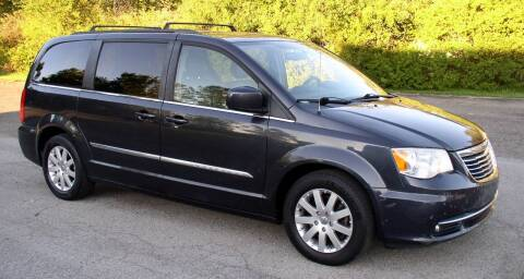2013 Chrysler Town and Country for sale at Angelo's Auto Sales in Lowellville OH
