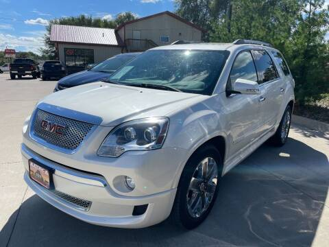 2011 GMC Acadia for sale at Azteca Auto Sales LLC in Des Moines IA