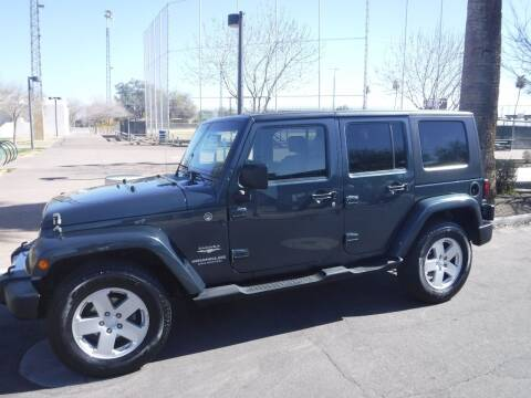 2008 Jeep Wrangler Unlimited for sale at J & E Auto Sales in Phoenix AZ