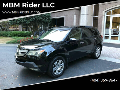 2009 Acura MDX for sale at MBM Rider LLC in Alpharetta GA