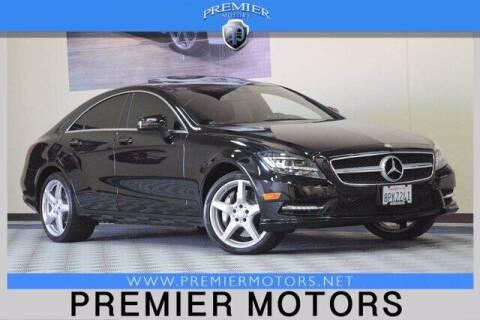 2014 Mercedes-Benz CLS for sale at Premier Motors in Hayward CA