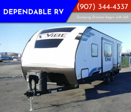 2022 Forest River Vibe for sale at Dependable RV in Anchorage AK