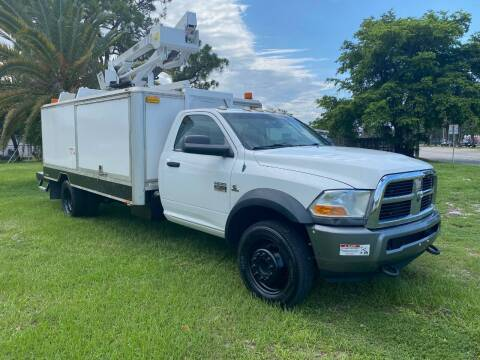 2014 RAM Ram Chassis 5500 for sale at Transcontinental Car in Fort Lauderdale FL