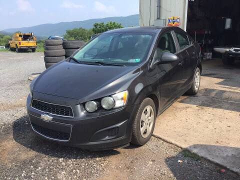 2014 Chevrolet Sonic for sale at Troys Auto Sales in Dornsife PA