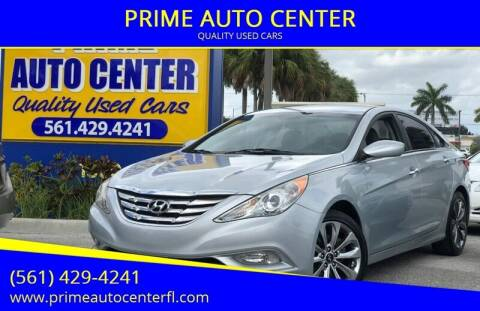 2012 Hyundai Sonata for sale at PRIME AUTO CENTER in Palm Springs FL