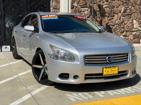 2014 Nissan Maxima for sale at Car Deal Auto Sales in Sacramento CA
