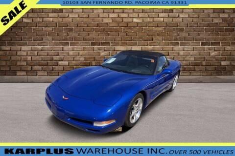 2002 Chevrolet Corvette for sale at Karplus Warehouse in Pacoima CA