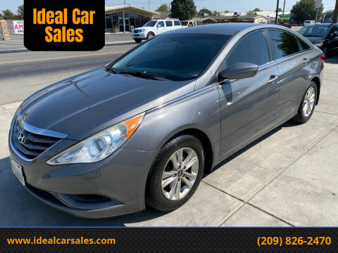 2012 Hyundai Sonata for sale at Ideal Car Sales in Los Banos CA