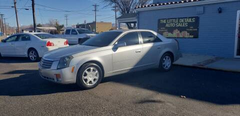 2004 Cadillac CTS for sale at The Little Details Auto Sales in Reno NV