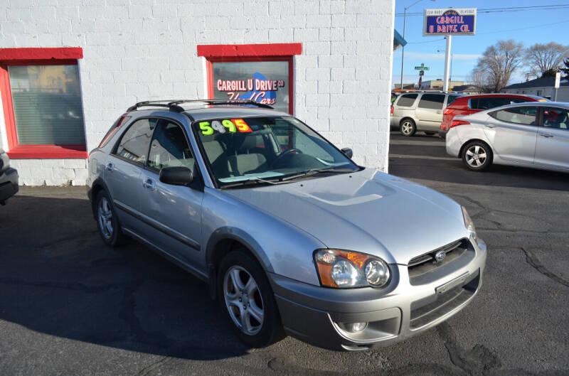 2004 Subaru Impreza for sale at CARGILL U DRIVE USED CARS in Twin Falls ID