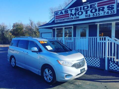 2012 Nissan Quest for sale at EASTSIDE MOTORS in Tulsa OK