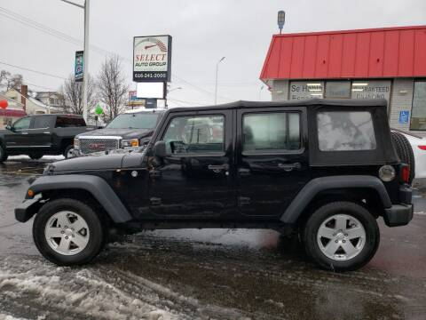 2009 Jeep Wrangler Unlimited for sale at Select Auto Group in Wyoming MI