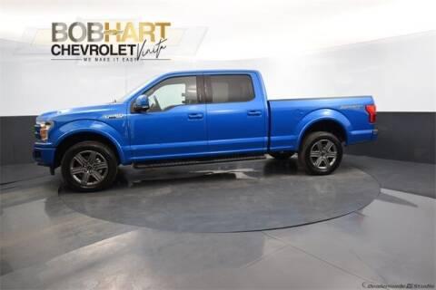 2020 Ford F-150 for sale at BOB HART CHEVROLET in Vinita OK