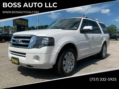 2013 Ford Expedition for sale at BOSS AUTO LLC in Norfolk VA