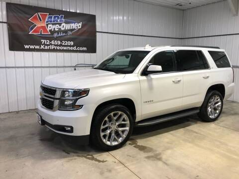 2018 Chevrolet Tahoe for sale at Karl Pre-Owned in Glidden IA