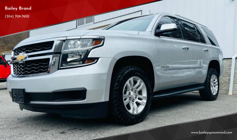 2018 Chevrolet Tahoe for sale at Bailey's Pre-Owned Autos in Anmoore WV