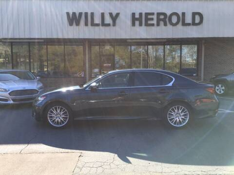 2013 Lexus GS 350 for sale at Willy Herold Automotive in Columbus GA