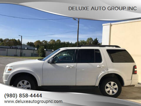 2010 Ford Explorer for sale at Deluxe Auto Group Inc in Conover NC