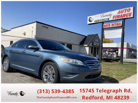 2010 Ford Taurus for sale at The Family Auto Finance in Redford MI