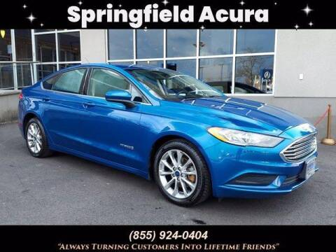 2017 Ford Fusion Hybrid for sale at SPRINGFIELD ACURA in Springfield NJ