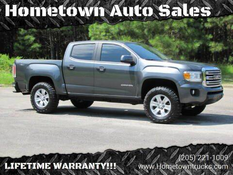 2016 GMC Canyon for sale at Hometown Auto Sales - Trucks in Jasper AL
