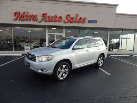 2008 Toyota Highlander for sale at Mira Auto Sales in Dayton OH