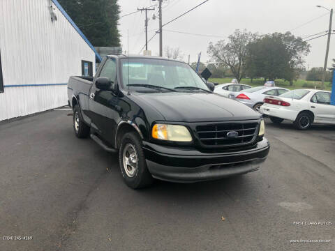 2002 Ford F-150 for sale at First Class Autos in Maiden NC